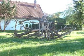Baumskulptur for Garten idee geisenfeld